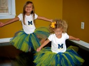 """Go Blue!"" Yep I said it."